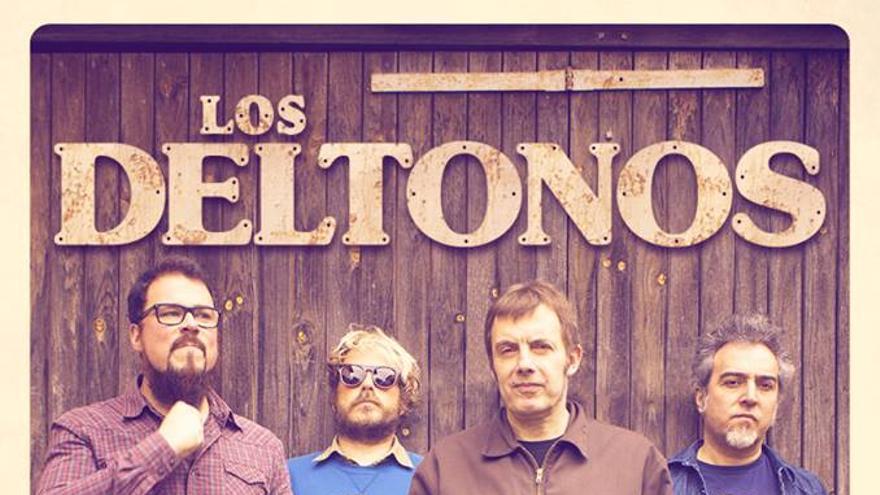 Imagen promocional del grupo cántabro de Los Deltonos