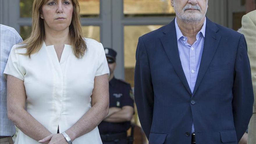 Susana Díaz y José Antonio Griñán / EFE