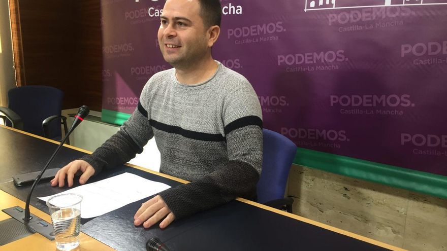 El diputado David Llorente / Podemos Castilla-La Mancha