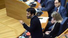 Vicent Marzà, durante su intervención en las Corts en la que criticaba a Vox