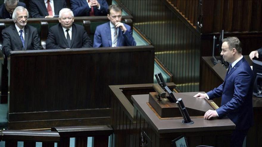 Polémica en Polonia por los intentos del Ejecutivo de controlar el Constitucional