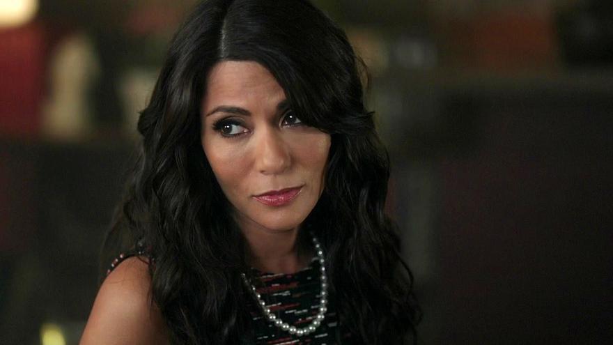 Marisol Nichols en uno de sus trabajos televisivos