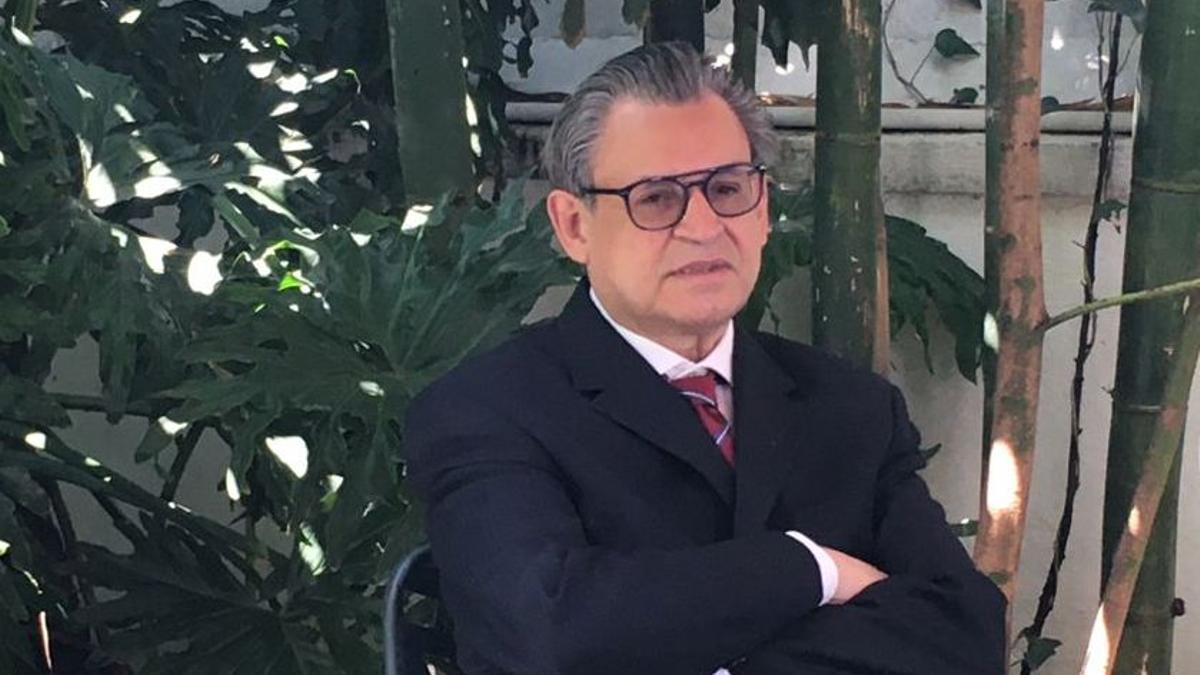 Andrés Ramírez, jefe de la Comisión Mexicana de Ayuda a Refugiados