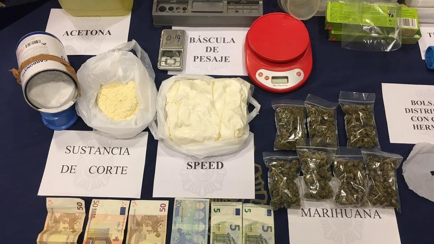 Dos detenidos por venta de estupefacientes en Pamplona y alrededores