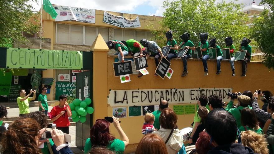 """Interinos finalizan este sábado su encierro en 'Las Aguas' tras el """"logro"""" de conseguir la unidad sindical"""