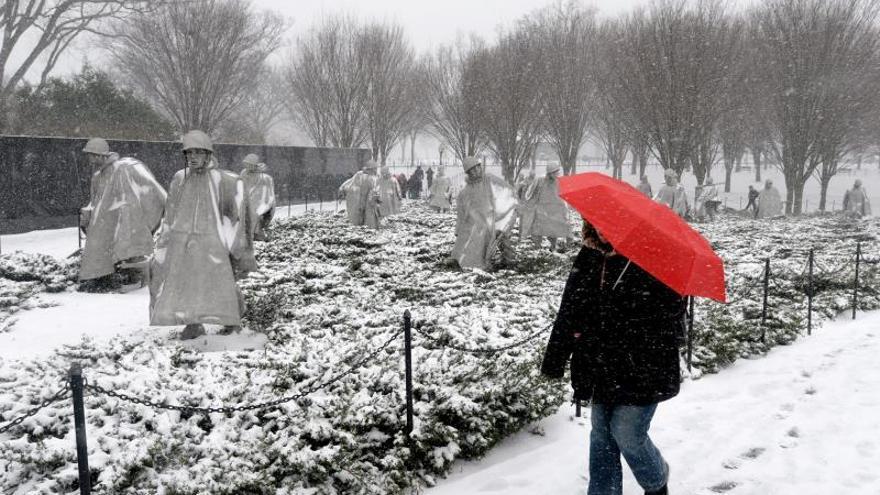 Emiten varias alertas por un temporal de nieve en la costa este de EE.UU.