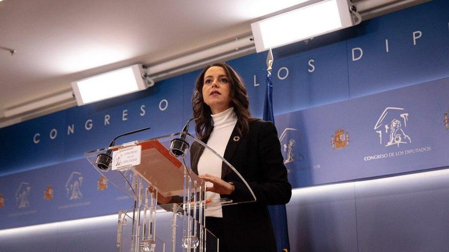 """Arrimadas señala que la Gestora de Ciudadanos se aprobó por una """"amplísima mayoría"""" pese a las """"opiniones minoritarias"""""""