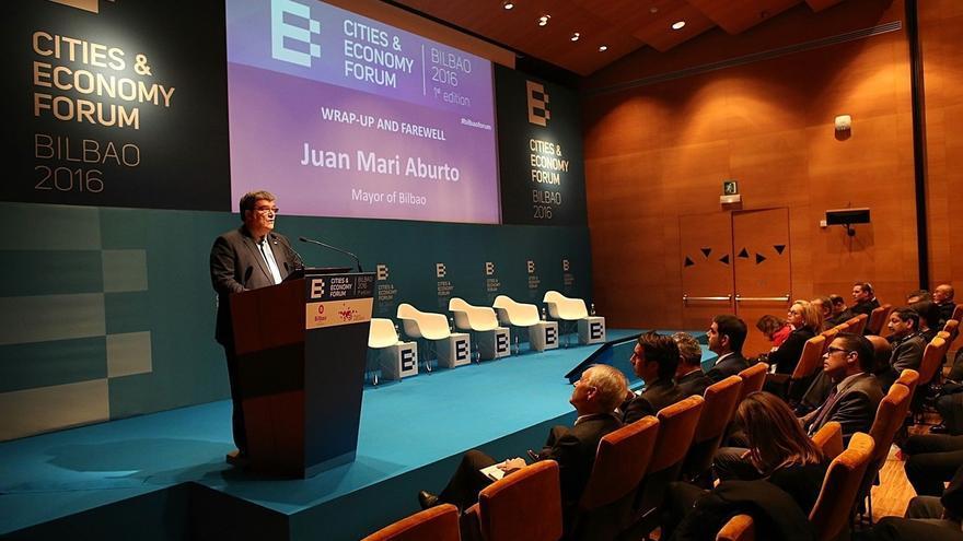 """Bilbao reivindica en el """"Cities & Economy Forum"""" ser una ciudad de negocios, innovacion, sostenible y núcleo del talento"""