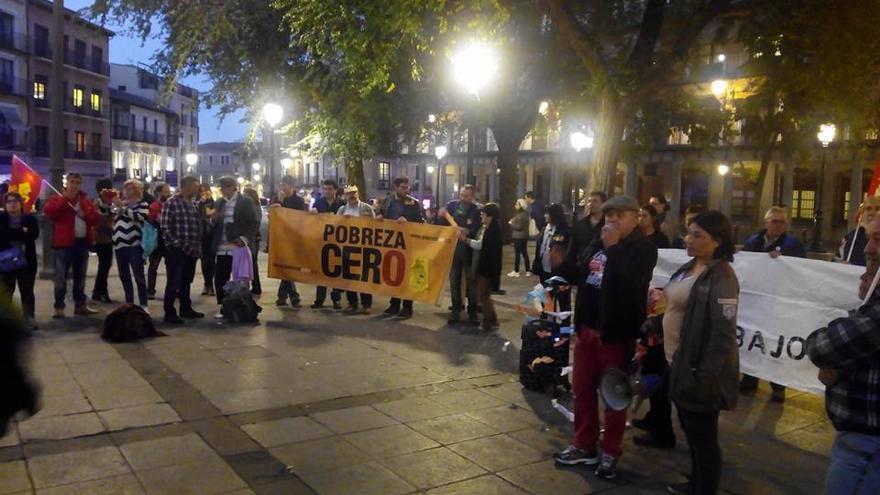 Concentración Marchas de la Dignidad en Toledo