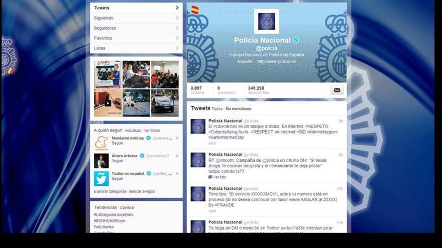 La Policía detiene a 25 personas en operaciones antidroga gracias a Twitter