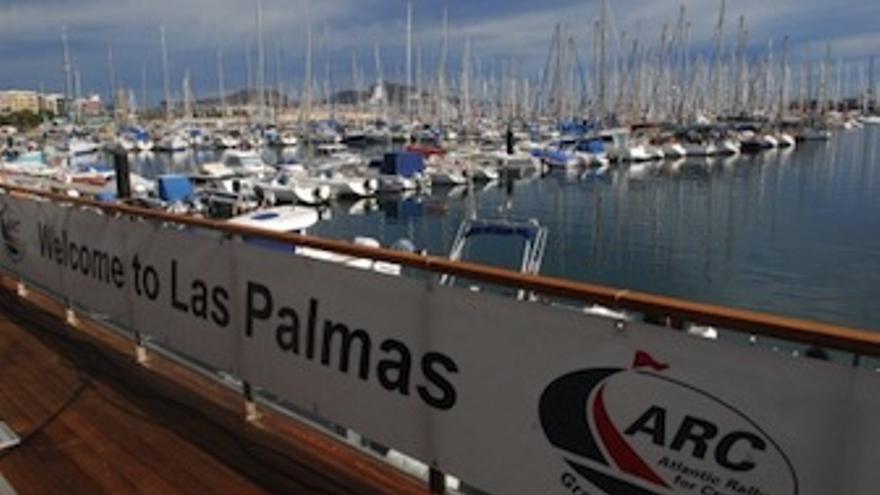 Imagen de los barcos en el Muelle Deportivo de Las Palmas de Gran Canaria. (Acfi Press)