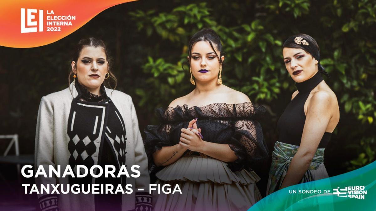 La banda de folk gallega Tanxugueiras