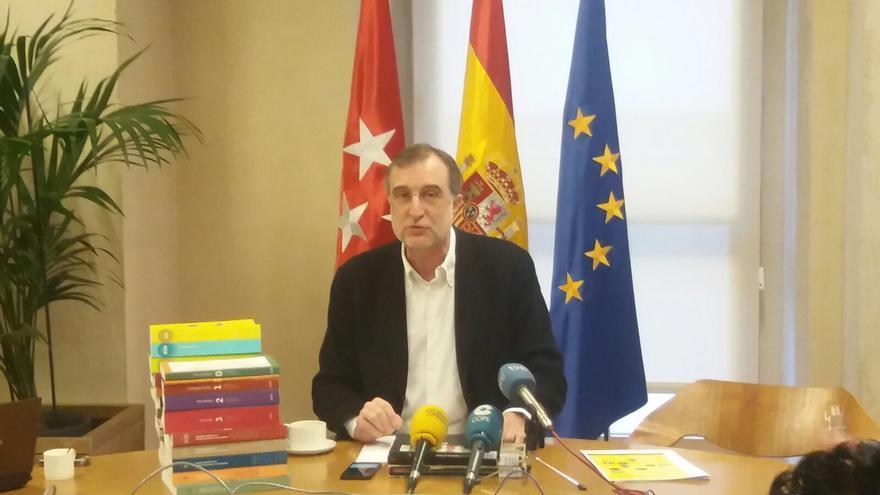 El decano del Colegio Oficial de Arquitectos, José María Ezquiaga.