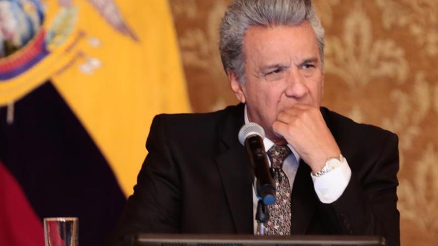 Un tribunal de Quito deja sin efecto la destitución de Moreno como presidente de AP
