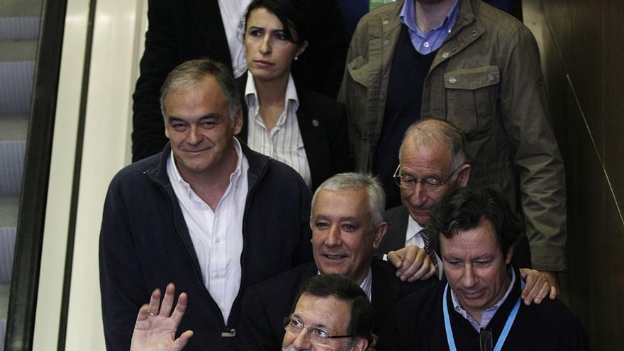 """Rajoy, a Arenas: """"Muchas gracias por lo que hiciste, por lo que haces y por lo que a buen seguro harás en el futuro"""""""