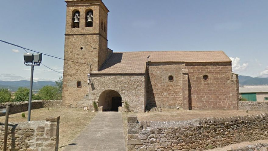 Iglesia de Martes donde se ha instalado un reloj para temporizar el funcionamiento