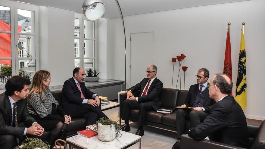 Navarra y Flandes se comprometen a colaborar en el ámbito de la biomedicina