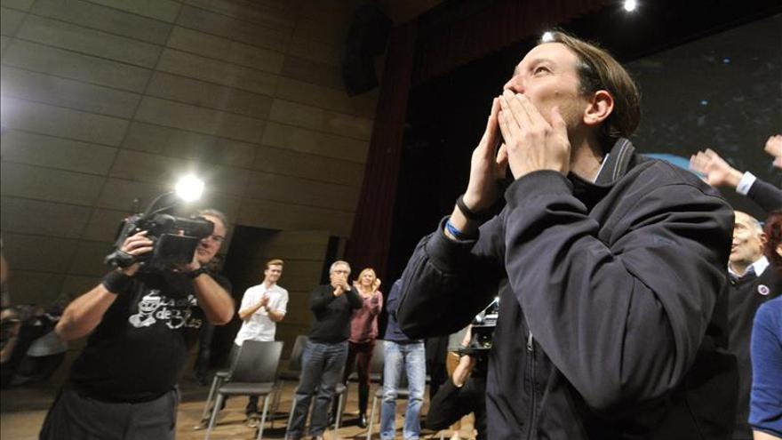 """Iglesias llama a llenar las urnas el 20D """"de sonrisas y de dignidad"""""""