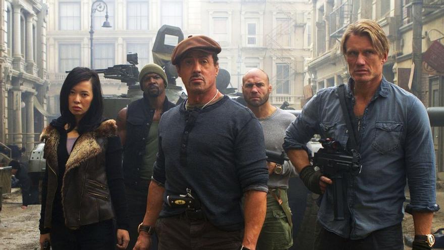 Los 'Mercenarios' (10.5%) de Antena 3 ejecutan su plan sin oposición en el jueves noche