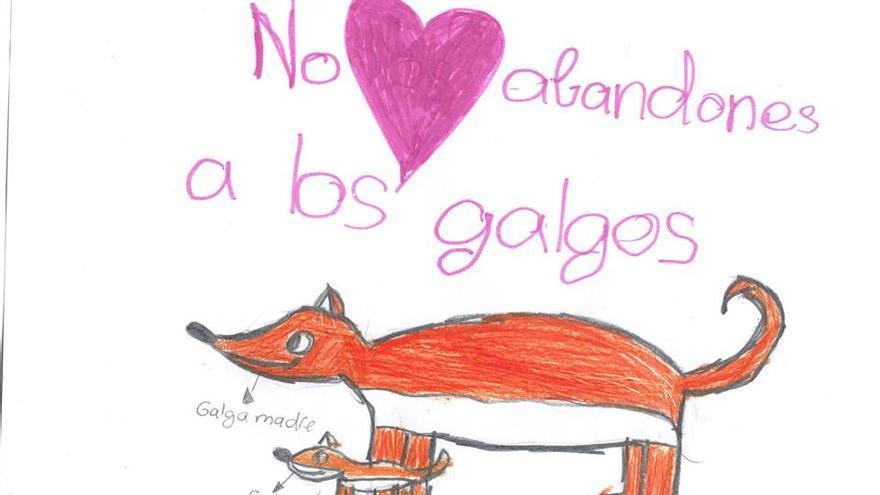 Dibujo de Adrián, alumno de 4º de Primaria en el 'C.E.I.P. Melquiades Hidalgo' de Cabezón de Pisuerga (Valladolid)