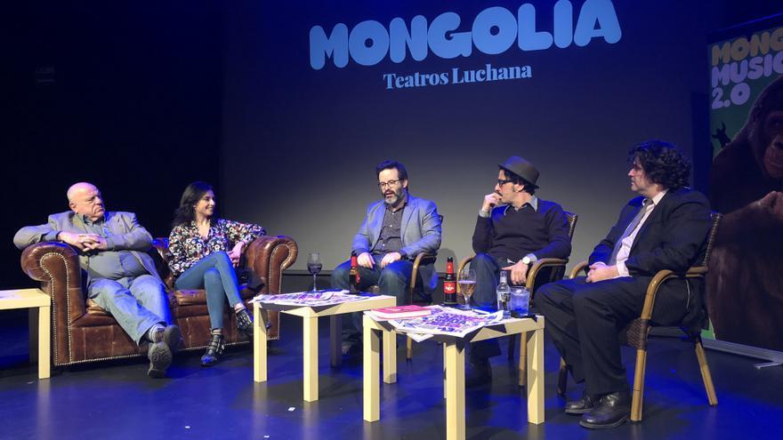 Acto de la revista Mongolia sobre la libertad de expresión celebrado en Madrid