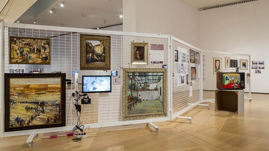 Imagen de la exposición en el IVAM