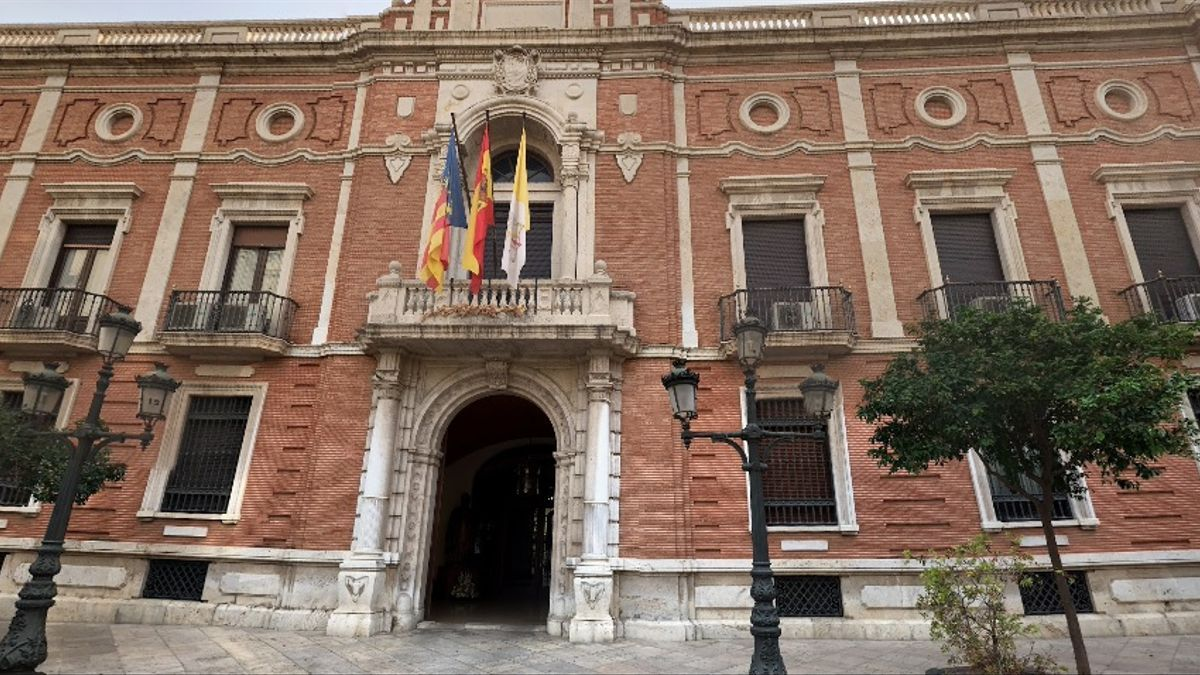 Palacio arzobispal de València.