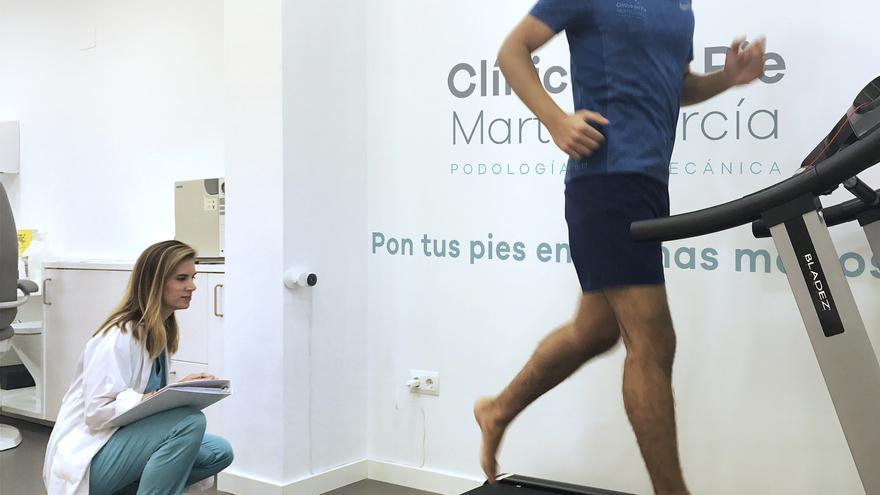 Rendimiento deportivo en la clínica Marta García