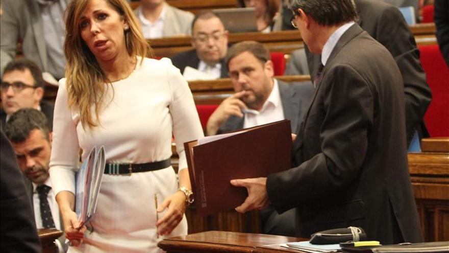 El Constitucional suspende provisionalmente el acuerdo soberanista catalán