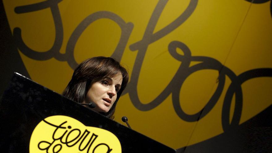 Silvia Clemente, en el año 2011 como consejera de Agricultura de Castilla y León, en la presentación de 'Tierra de sabor' en una imagen de archivo.