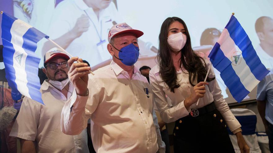 Exjefe Contra y exMiss Nicaragua, fórmula presidencial de bloque opositor