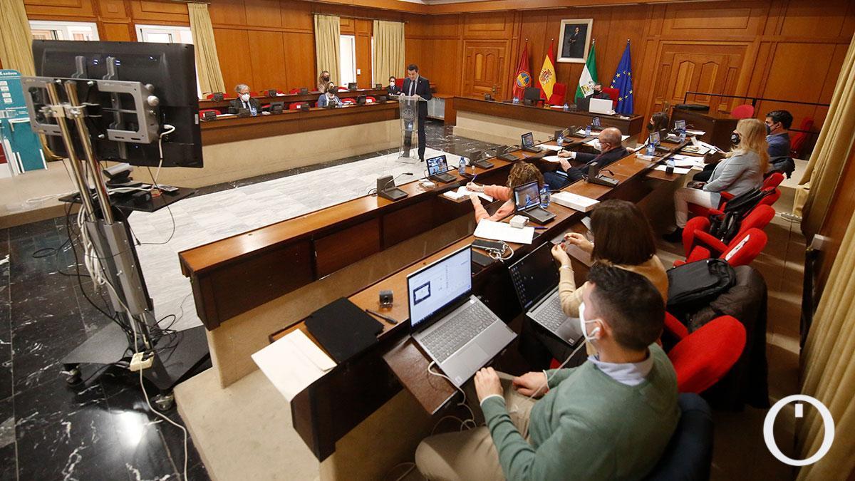 Pleno del Debate sobre el Estado de la Ciudad 2021.