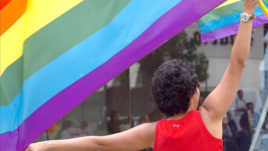 Una activista por los derechos LGTBIQ+