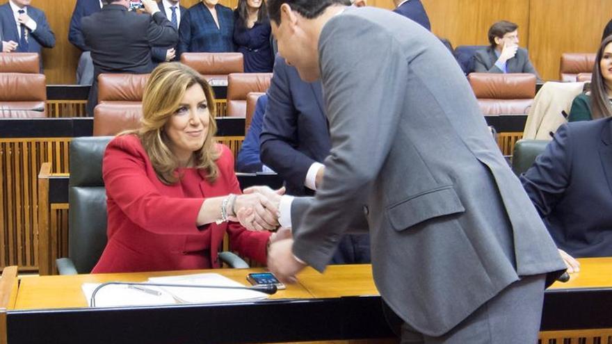 Díaz pide diálogo que preserve la unidad de España y la igualdad de los españoles