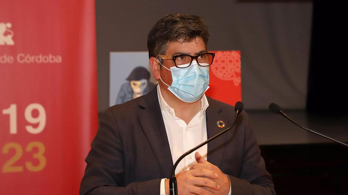 El delegado de Cohesión Social, Consumo, Participación Ciudadana y Protección Civil de la Diputación de Córdoba, Rafael Llamas.