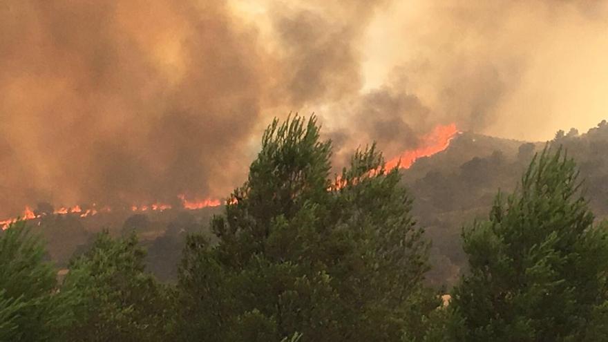Incendio en Liétor (Albacete) / Europa Press