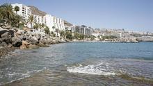 Zona de Anfi, en el municipio de Mogán, en Gran Canaria (ALEJANDRO RAMOS)