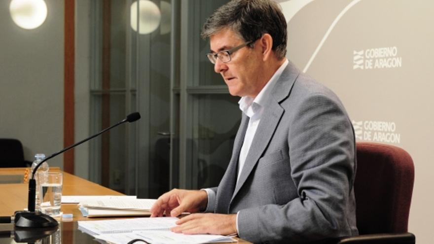 El consejero de Presidencia, Vicente Guillén.
