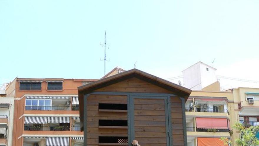 Uno de los palomares instalados en Valencia.