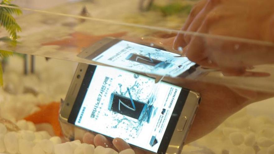 Samsung Electronics se recupera de la fuerte caída en bolsa por el Note 7