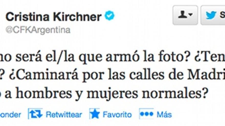 Kirchner contra El País