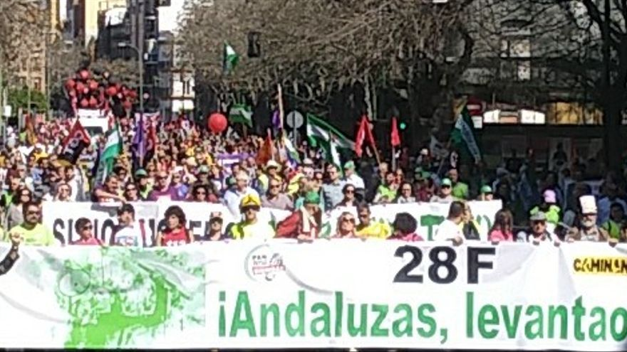 Imagen de la manifestación del año pasado.