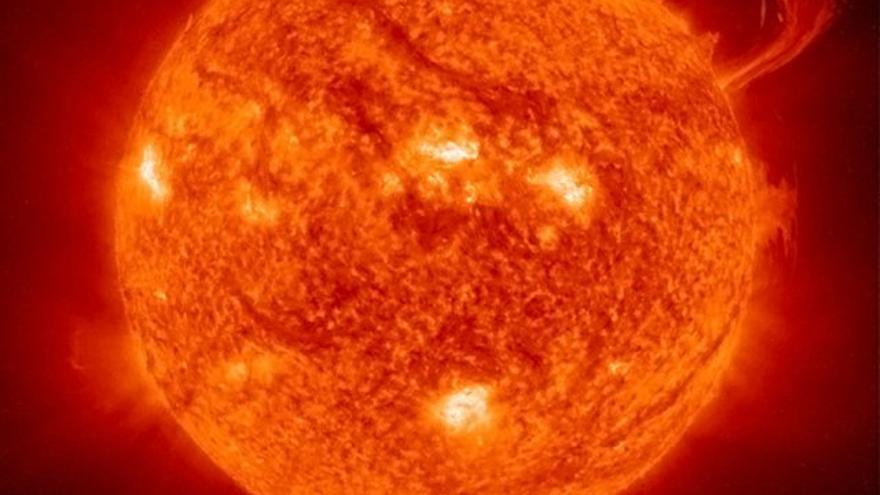 Gran protuberancia en el Sol
