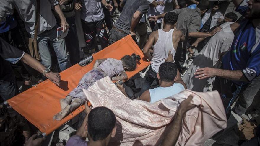 Casi 400 niños han muerto y 2.500 han resultado heridos en la ofensiva a Gaz