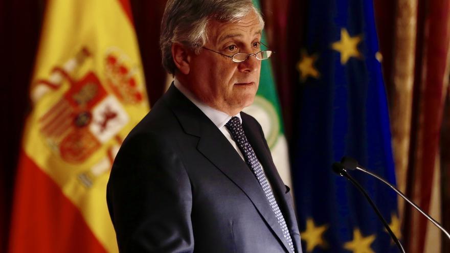 """Antonio Tajani, sobre Cataluña: """"El marco constitucional español, es el marco de la Unión Europea"""""""
