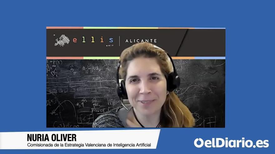 """Nuria Oliver: """"Tenemos un modelo educativo de la segunda revolución industrial pero estamos viviendo ya en la cuarta"""""""
