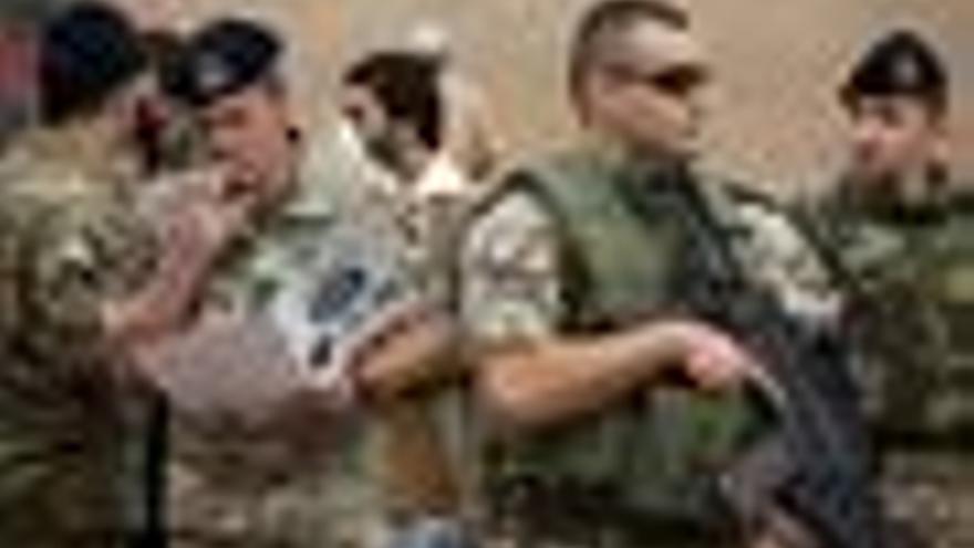 Soldados de la ONU en Afganistán