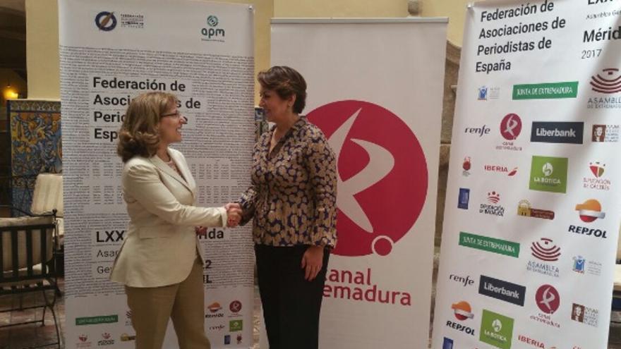 Canal Extremadura se une a la Fundación de la Comisión de Arbitraje Quejas y deontología del Periodismo / @cextremadura