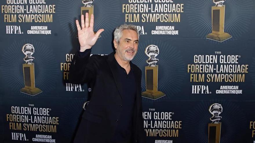 """""""Roma"""", de Alfonso Cuarón, se lleva el Globo de Oro a la mejor película extranjera"""