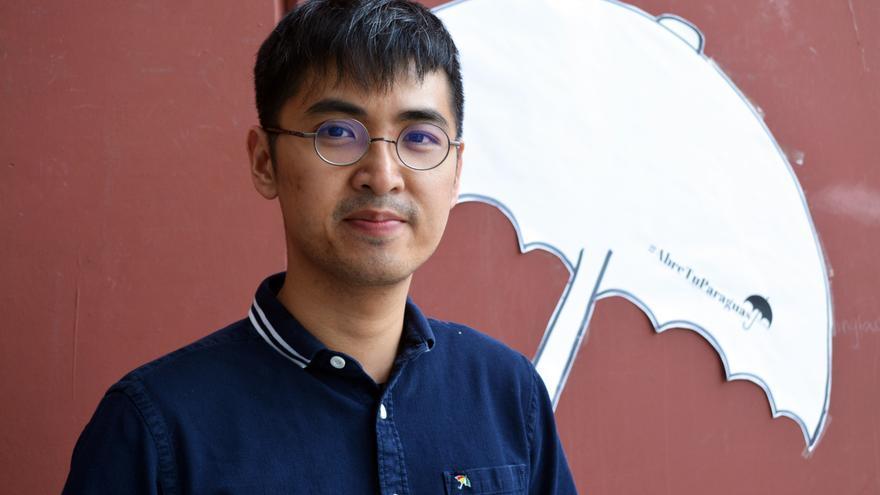 Alex Chow, uno de los líderes de la Revolución de los Paraguas